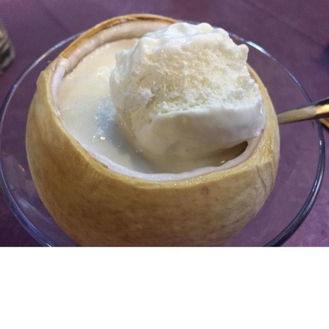 Coconut Ice Cream And Agar Agar