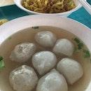 Fishballs & Meatballs Noodles