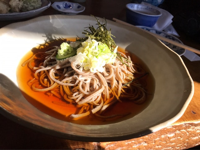 Soba With Yam Paste