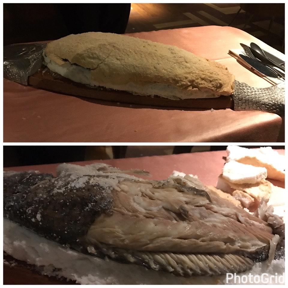 Sea Salt Baked Australian Sea Bass