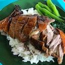 Roast Duck Drumstick Rice