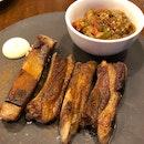 Grilled Lamb Short Ribs