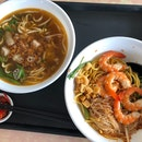 Prawn Mee With Pig Tail Soup