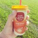 Cafe Latte to keep me awake!