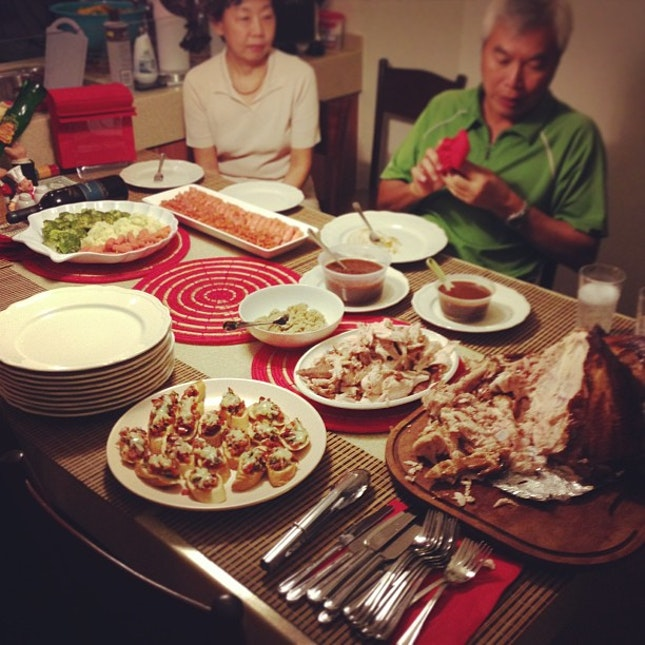 Christmas Dinner with the Fam!