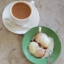 Teh Si With Soft Boiled Eggs