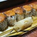 Aburi Spicy Salmon Maki
