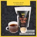 Beef Bone Broth w/ Maca Root