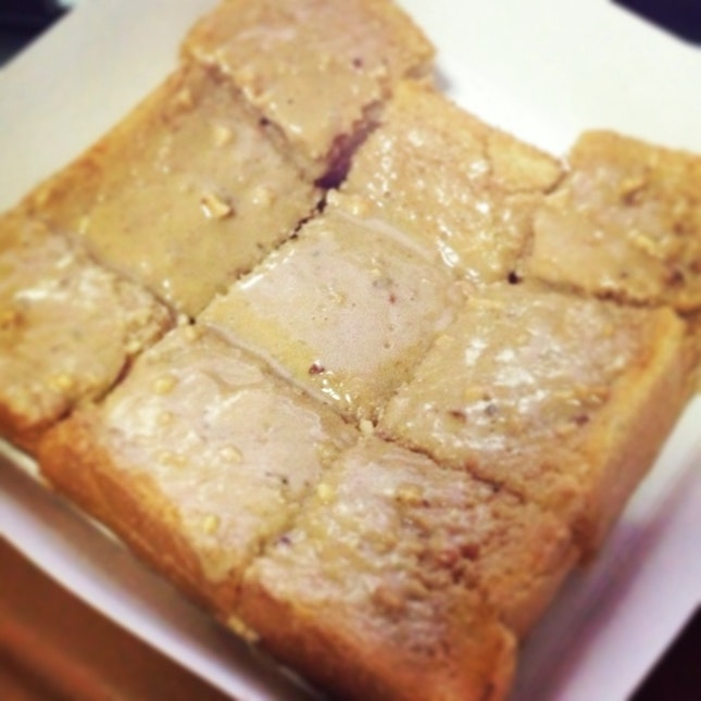 Peanut Butter Thick Toast