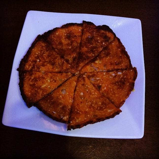 Kimchi pancake #yum #foodies #foodporn #singapore #korea #dinner #timeoff