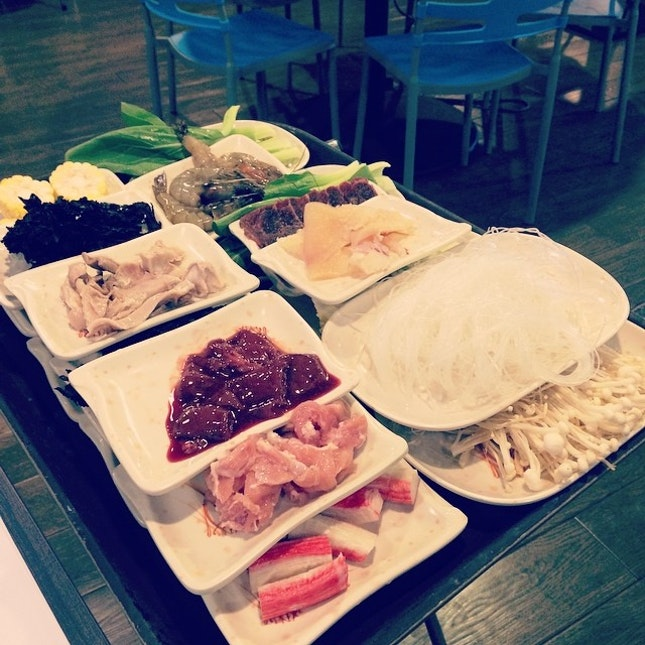 #dinner #sinful #singapore #steamboat #yum #food #foodies #foodporn