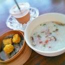 Siew Mai Mushroom Porridge