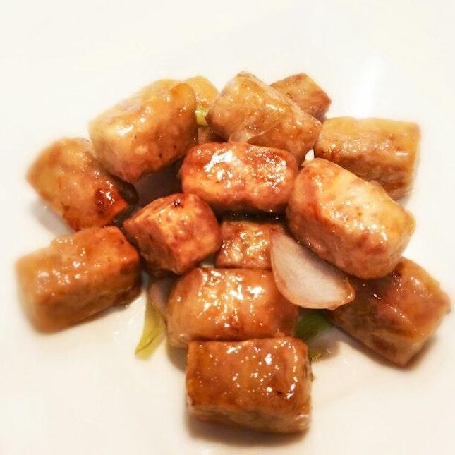 Stir Fried Yam