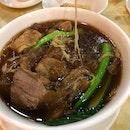 Fave beef brisket noodles