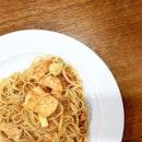 Crab Sauce Linguine!