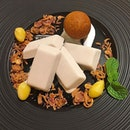 Iced Coconut Yam Parfait ($8).