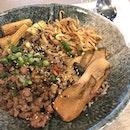 Thai Stirfry Basil Pork Grainbowl ($12)