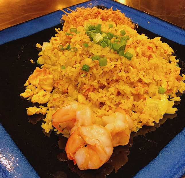 Pineapple Fried Rice ($13/$19)