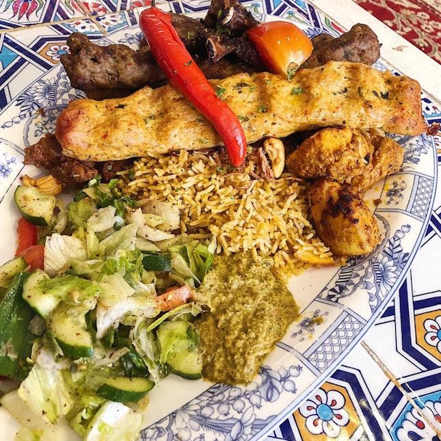 Mixed Kebab Platter ($49.90/2 Pax, $74.90/3 Pax, $93.90/4 Pax)