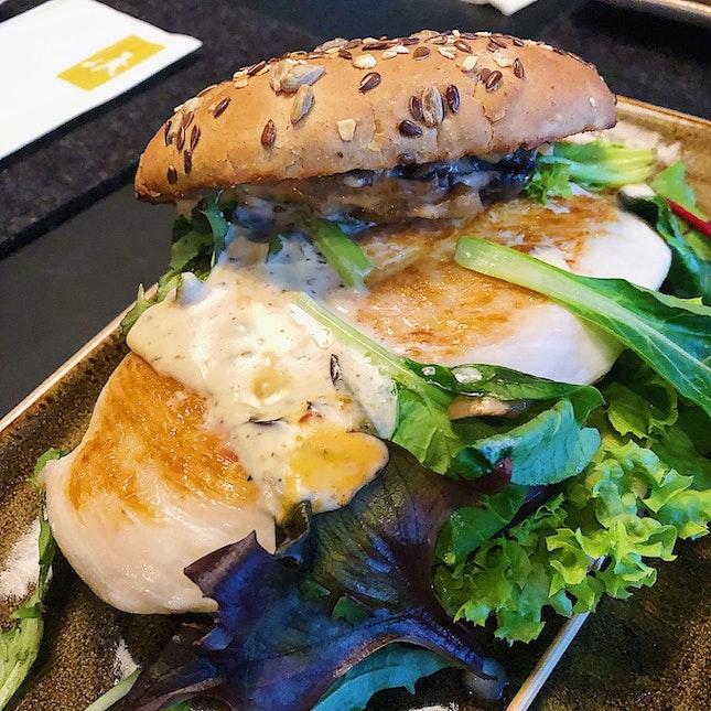 Zehnt Multigrain Burger ($15).