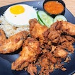 Set A Wing Wing; 2 shrimp paste wings + aromatic rice + egg ($5.20).