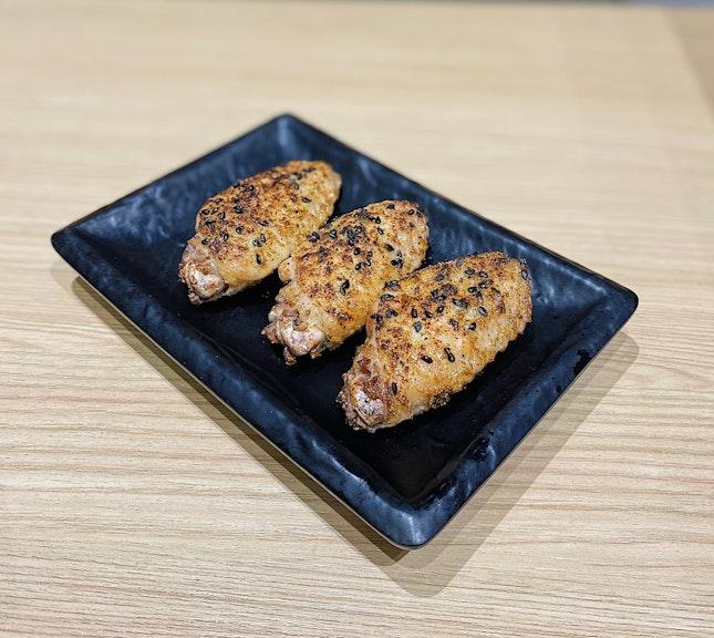 Tufei Chicken Mid-wings ($5.50).
