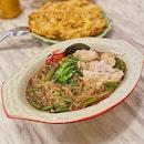 Pork Thai Boat Noodles ($7.50/standard 1 Pax).