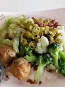 酿豆腐,菜花,毛瓜