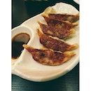 Gyoza for my side dish.