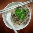 Steamed minced pork with mei cai + rice.