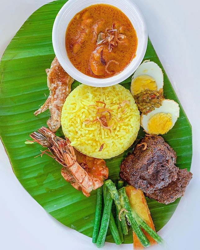 I wanna eat this nasi campur every single day.