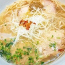 Such beauty...clear broth made with Hamaguri clams and pork bones.