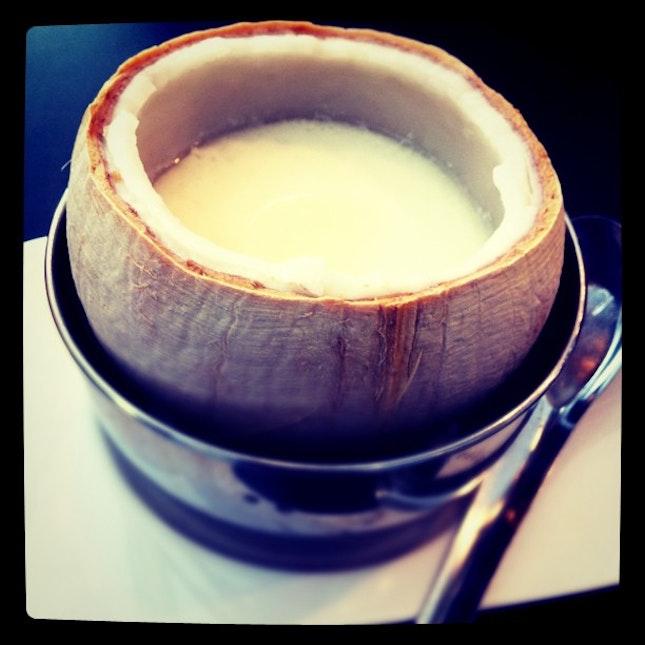 #coconut #milk #pudding #dessert