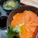 Salmon Rice Bowl from Doraya ($9.80)