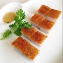 Roast Pork Squares