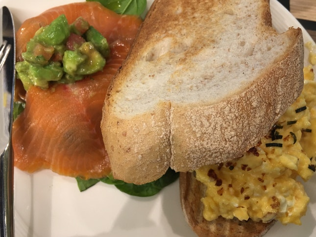 Salmon & Eggs ($19.00)