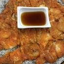 Kimchi Pajeon ($14)