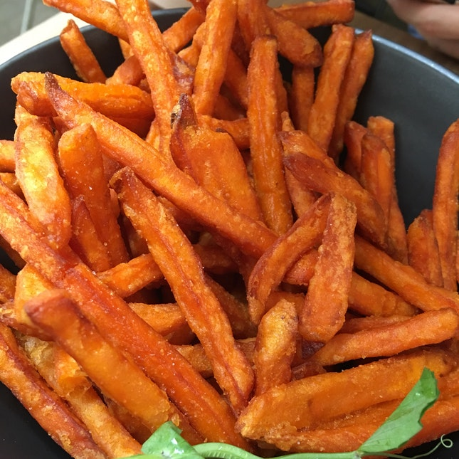 Truffled Sweet Potato Fries ($12.90)