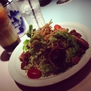 Chicken Salad + 3 Layer Tea.