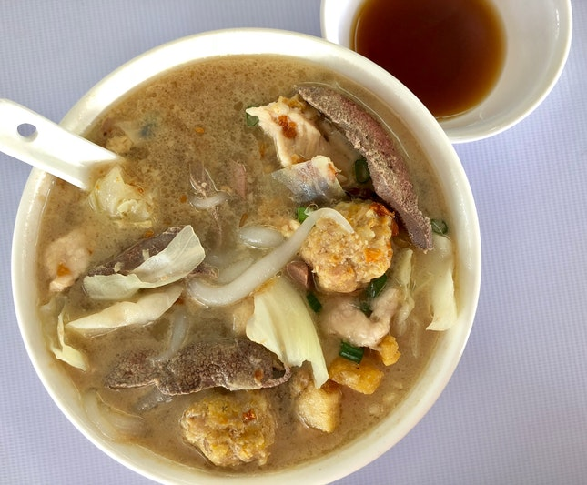 Special Pork Noodle With Shaoxing Wine