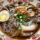 Thai Style Pork Trotters Soup Noodles