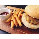 #iamcafe #burger #foodporn