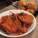 Red Chilli Crab + Fried Mantou
