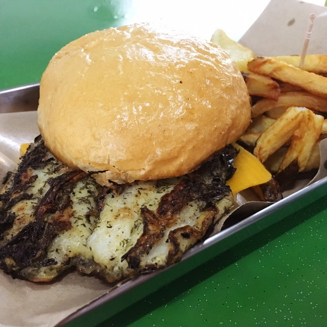 That Dory Fish Burger