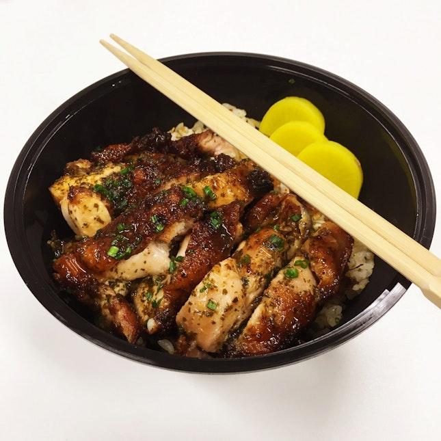 Garlic Butter Chicken Donburi