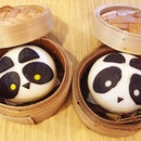 Panda Chocolate Custard & Red Bean Baos