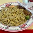 Liang Ji Fried Hokkien Prawn Mee ($5)