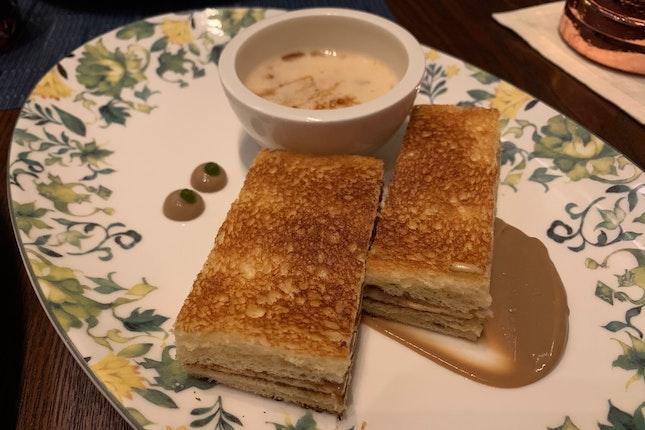 Foie Gras Kaya Toast