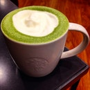 Craving Green Tea Latte 🍵😁🐾🐻1 for 1 but well ...