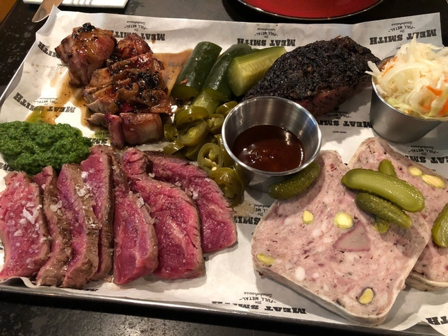 For Meat Platters and Beers to Share